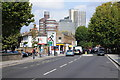 TQ2378 : Hammersmith Bridge Road by Philip Halling