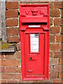 TM3747 : Home Farm Victorian Postbox by Adrian Cable