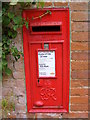 TM2846 : Methergate Hall George VI Postbox by Adrian Cable