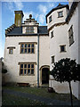 SH7877 : Upper Courtyard, Plas Mawr by Phil Champion