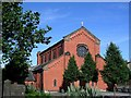 SD6727 : St Annes Roman Catholic Church Blackburn by Steve Houldsworth