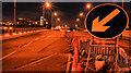 J3474 : Repairs, Queen Elizabeth Bridge, Belfast (3) by Albert Bridge
