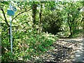 SE2507 : Bridleway sign, Coach Gate Lane by Christine Johnstone
