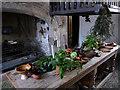 SH7877 : The Kitchen, Plas Mawr by Phil Champion