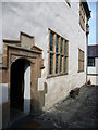 SH7877 : Main door to the South Range, Plas Mawr by Phil Champion