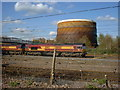 TQ3686 : Gas Holder at Lea Bridge Gas Works by Richard Dunn