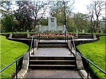 NS2676 : Memorial for those killed in the Greenock air raids by Lairich Rig