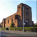 SJ8888 : St Ambrose Catholic Church, Adswood by David Dixon