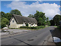 TL4349 : Thatched Cottage, Newton by Hugh Venables