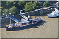 TQ3080 : Paddle Steamer Tattershall Castle on The Embankment by Chris Allen