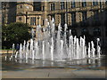 SK3587 : Fountains in Sheffield by Dave Pickersgill