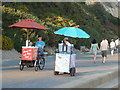 SZ0689 : Branksome: mobile ice-cream sellers by Chris Downer