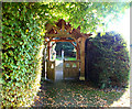 ST8115 : Gate to the churchyard by Jonathan Kington