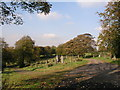 SD6930 : View from path in Blackburn Cemetery by Steve Houldsworth