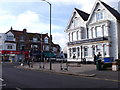 TQ2605 : Road junction on the border of Hove and Portslade. by nick macneill