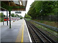 TQ2473 : Southfields station by Ian Yarham