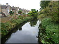 TQ2573 : The River Wandle from Kimber Road by Ian Yarham