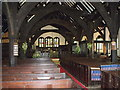 SJ7474 : Interior of St. Oswald's, Lower Peover by nick macneill