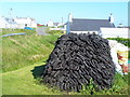 NB5165 : Peat Stack, Eoropaidh by Colin Smith