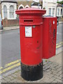 TQ2382 : Victorian postbox, College Road / Ashburnham Road, NW10 by Mike Quinn