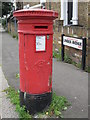 TQ2383 : Victorian postbox, Linden Avenue / Station Terrace, NW10 by Mike Quinn