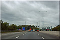TQ5692 : M25 junction 28 by Robin Webster