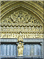 TQ3079 : Archway and door detail - Westminster Abbey by Mick Lobb