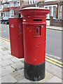 TQ2383 : Victorian postbox, College Road / Bathurst Gardens, NW10 by Mike Quinn