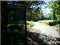 TQ3073 : Entrance to Palace Road Gardens Nature Reserve by Ian Yarham