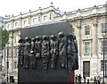 TQ3079 : Frieze on the Memorial to the Women of World War Two - Whitehall by Mick Lobb