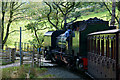SH5848 : Crossing Above Beddgelert, Gwynedd by Peter Trimming