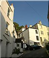SX2553 : Castle Street, Looe by Derek Harper
