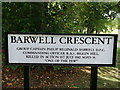 "TQ4161 : Barwell Crescent ""One of the Few"" by David Anstiss"