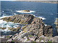 NA9711 : The Point of Rubha Huisinis Looking Towards Scarp by Mike O'Shea