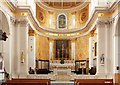TQ2981 : St Patrick, Soho Square - Sanctuary by John Salmon