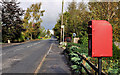 J4668 : Letter box near Comber by Albert Bridge