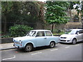TQ2981 : Trabant, Ridgmount Gardens, WC1 by Christopher Hilton