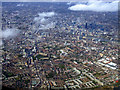 TQ3277 : South London and the City of London from the air by Thomas Nugent