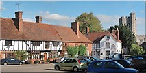 TR0653 : Chilham village square by Oast House Archive