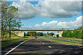 SE4284 : A19 - Green Lane bridge by Robin Webster