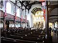 TQ3774 : Church of St Mary the Virgin: interior by Stephen Craven