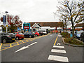 SE4822 : Ferrybridge Service Area, M62 by David Dixon