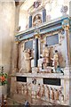 TQ7237 : Culpeper Tomb, Goudhurst Church by Julian P Guffogg