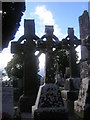 O0482 : Monasterboice: Celtic crosses by Christopher Hilton