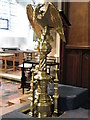 TQ8833 : Lectern, St Mildred's Church by Miss Steel