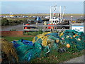 TF7944 : All the colours of the rainbow at Brancaster Staithe by Richard Humphrey