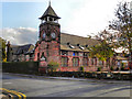 SJ7792 : St Martin's School, Ashton upon Mersey by David Dixon