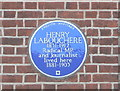 TQ1672 : Henry Labouchere - Blue Plaque by Eirian Evans