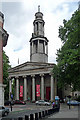 TQ2982 : St Pancras New Church, Upper Woburn Place by Stephen Richards