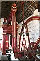 SJ6903 : Blists Hill Victorian Town Museum - beam engine. by Chris Allen